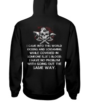 I Came Into This World - Viking Shirt Hooded Sweatshirt tile