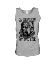 Viking Shirts : I am a Good Person But Unisex Tank thumbnail