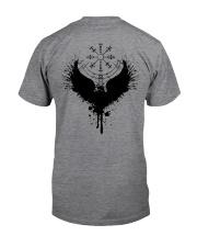 Raven Vegvisir - Raven Viking - Viking Shirt Classic T-Shirt back