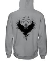 Raven Vegvisir - Raven Viking - Viking Shirt Hooded Sweatshirt thumbnail