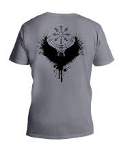 Raven Vegvisir - Raven Viking - Viking Shirt V-Neck T-Shirt thumbnail