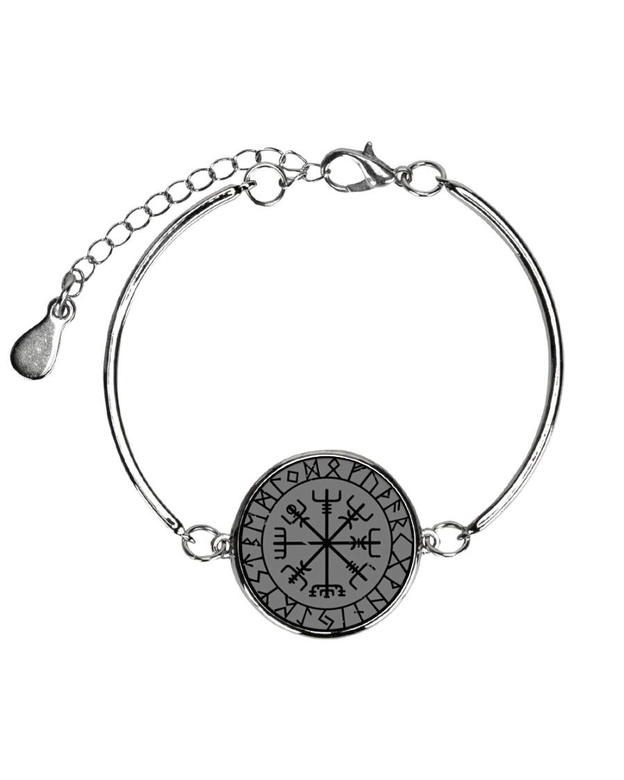 VIKING VEGVISIR - VIKING BRACELET Metallic Circle Bracelet