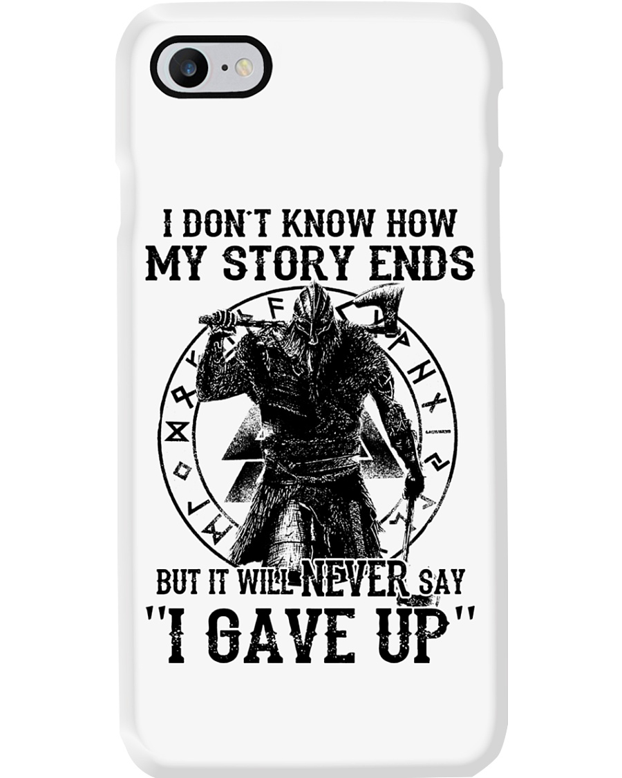 MY STORY ENDS - VIKING PHONE CASE Phone Case