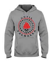 Viking Shirt - Vegvisir - Until Valhalla Hooded Sweatshirt thumbnail
