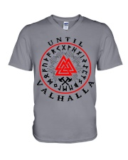 Viking Shirt - Vegvisir - Until Valhalla V-Neck T-Shirt thumbnail