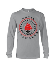 Viking Shirt - Vegvisir - Until Valhalla Long Sleeve Tee thumbnail