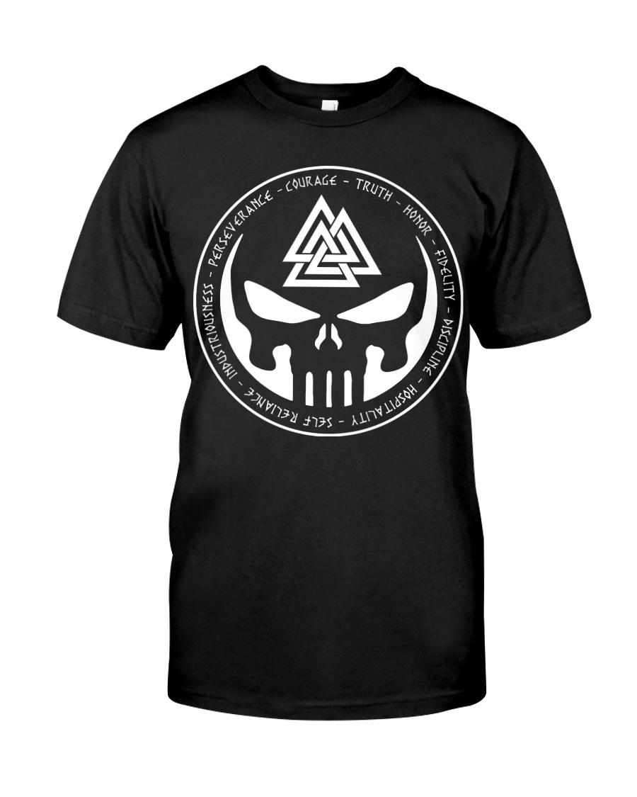 Viking Shirt - The Viking Valknut Symbol Meaning Classic T-Shirt