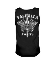 Viking Shirt : Valhalla Awaits Viking Unisex Tank thumbnail