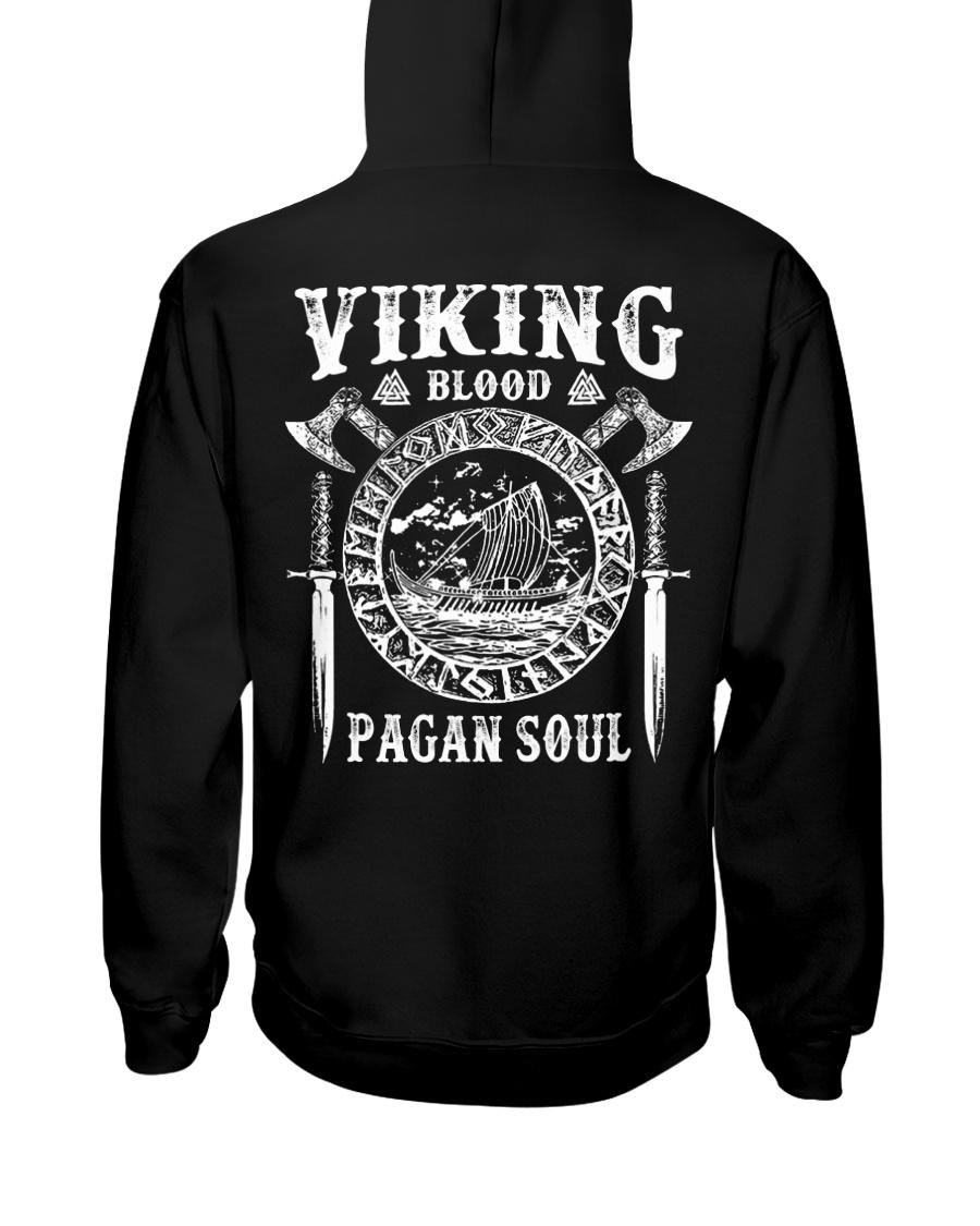 Viking Shirt - Viking Blood Hooded Sweatshirt