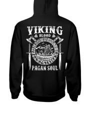 Viking Shirt - Viking Blood Hooded Sweatshirt back