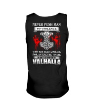 NEVER PUSH MAN - VIKING T-SHIRTS Unisex Tank thumbnail