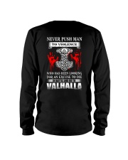 NEVER PUSH MAN - VIKING T-SHIRTS Long Sleeve Tee thumbnail