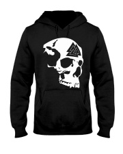 SKULL VALKNUT - VIKING T-SHIRTS Hooded Sweatshirt thumbnail