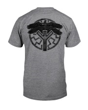 Viking Shirts : Huginn and Muninn : Raven Viking Classic T-Shirt thumbnail