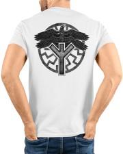 Viking Shirts : Huginn and Muninn : Raven Viking Classic T-Shirt custom-t-shirts-classic-lifestyle-back-220