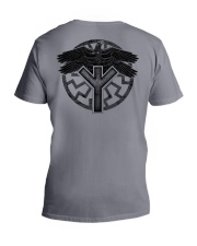 Viking Shirts : Huginn and Muninn : Raven Viking V-Neck T-Shirt thumbnail