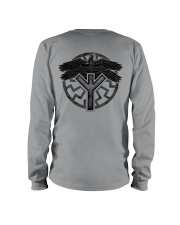 Viking Shirts : Huginn and Muninn : Raven Viking Long Sleeve Tee thumbnail
