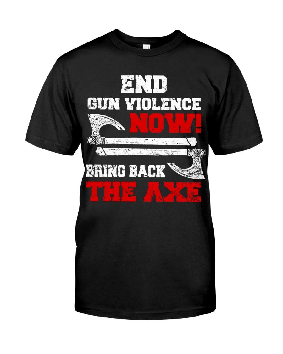 End Gun Violence Now - Viking Shirt Classic T-Shirt