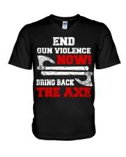 End Gun Violence Now - Viking Shirt V-Neck T-Shirt thumbnail