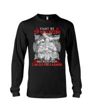 Viking Shirt - I Am Old For A Reason Long Sleeve Tee thumbnail