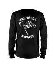Valhalla Awaits - Viking Shirt Long Sleeve Tee thumbnail