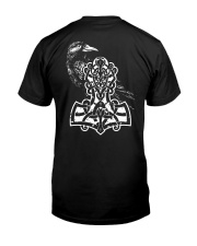 Raven And Hammer - Viking Shirt Classic T-Shirt thumbnail