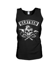 Viking Shirt : Heathen Wolf Raven Unisex Tank thumbnail