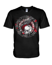 Raven Viking - Viking Shirt V-Neck T-Shirt tile