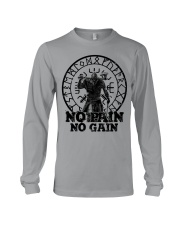 Viking Shirts : No Pain No Gain Viking Long Sleeve Tee thumbnail
