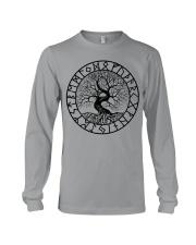 Tree Of Life - Yggdrasil Shirt - Viking Shirts Long Sleeve Tee thumbnail