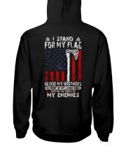 FOR MY FLAG - VIKING T-SHIRTS Hooded Sweatshirt back