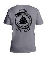 Viking Shirt - Until Valhalla V-Neck T-Shirt thumbnail