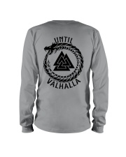 Viking Shirt - Until Valhalla Long Sleeve Tee thumbnail