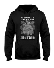 BEWARE THE OLD MAN - VIKING T-SHIRTS Hooded Sweatshirt tile