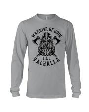Viking Shirt : Warrior Of Odin - Till Valhalla Long Sleeve Tee thumbnail