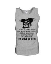 Viking Shirt - The Child Of Odin Unisex Tank thumbnail