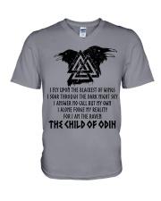 Viking Shirt - The Child Of Odin V-Neck T-Shirt thumbnail