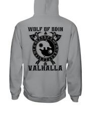 Viking Shirt - Wolf Of Odin - Valhalla Hooded Sweatshirt thumbnail