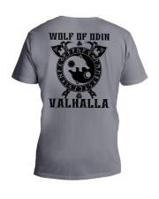 Viking Shirt - Wolf Of Odin - Valhalla V-Neck T-Shirt thumbnail