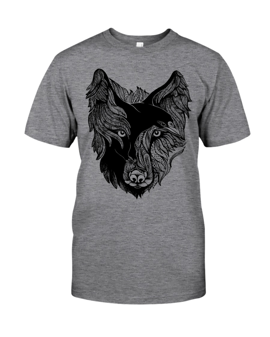 Raven And Wolf Viking - Viking Shirt Classic T-Shirt
