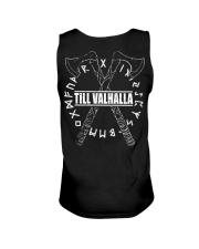 Viking Shirt : Till Valhalla Rune Unisex Tank thumbnail