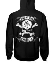 Viking Shirt - Sons of Odin - Valhalla Hooded Sweatshirt back