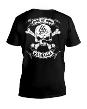 Viking Shirt - Sons of Odin - Valhalla V-Neck T-Shirt thumbnail