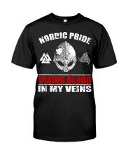 Nordic Pride - Viking Shirt Classic T-Shirt front