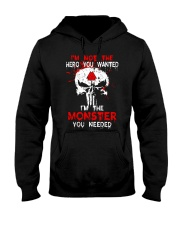NOT THE HERO YOU WANTED - Viking Shirt Hooded Sweatshirt thumbnail