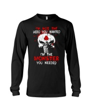 NOT THE HERO YOU WANTED - Viking Shirt Long Sleeve Tee thumbnail