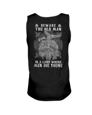 Beware The Old Man In A Land Where - Viking Shirt Unisex Tank thumbnail