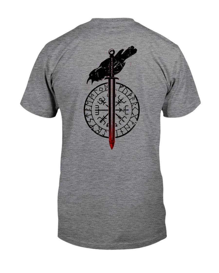 Raven Vegvisir  - VIKING T-SHIRTS Classic T-Shirt
