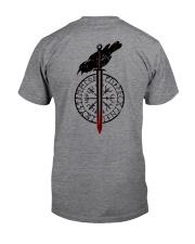 Raven Vegvisir  - VIKING T-SHIRTS Classic T-Shirt back