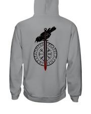 Raven Vegvisir  - VIKING T-SHIRTS Hooded Sweatshirt thumbnail